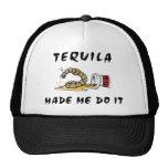 Tequila mexicano divertido gorro de camionero