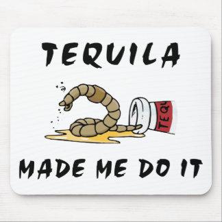 Tequila mexicano divertido tapete de ratones