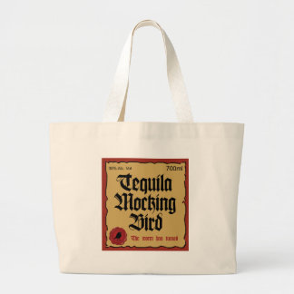 tequila mocking bird tote bag