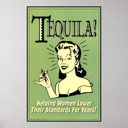 Tequila - mujeres de ayuda más bajo sus estándares impresiones