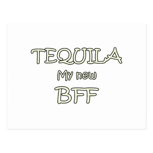 Tequila My New BFF Postcards