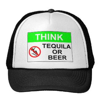 TEQUILA OR BEER TRUCKER HAT