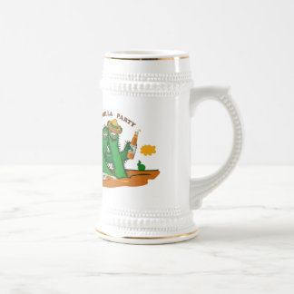 tequila-party beer stein