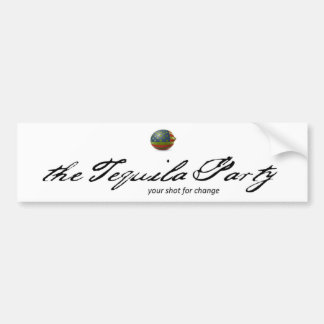 Tequila Party Bumper Sticker