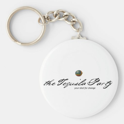 Tequila Party Keychain