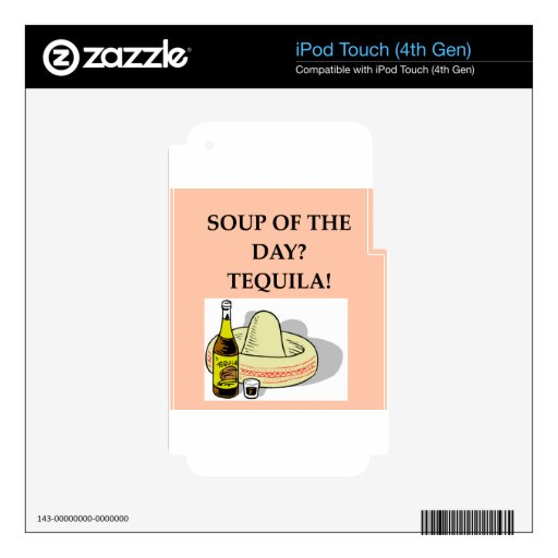 TEQUILA.png iPod Touch 4G Skins