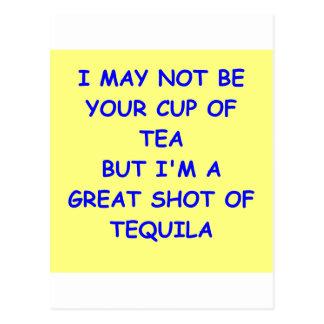 tequila postcard