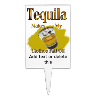 Tequila Shot Glass Cake Pick