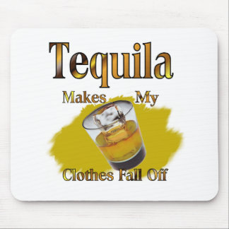 Tequila Shot Glass Mouse Pad