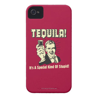 Tequila: Special Kind of Stupid iPhone 4 Case