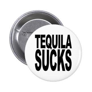 Tequila Sucks 2 Inch Round Button