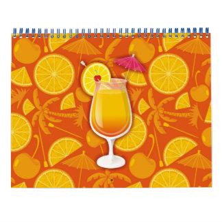 Tequila sunrise calendar