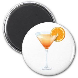 Tequila Sunrise Cocktail Fridge Magnets