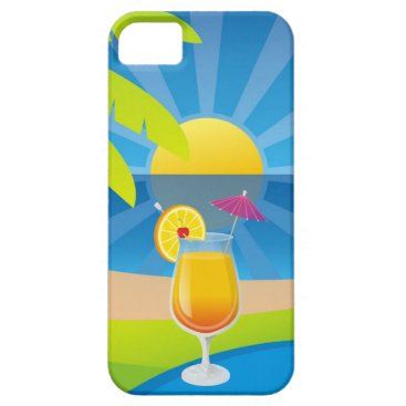 Beach Themed Tequila sunrise iPhone SE/5/5s case