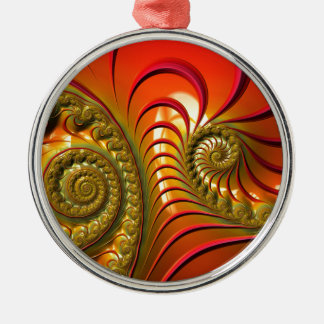 Tequila Sunrise Metal Ornament