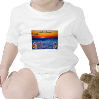 Tequila Sunrise Over Atlantic Big Beach Big Fun T-shirt