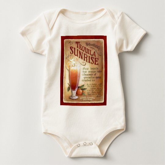 tequila sunrise recipe baby bodysuit