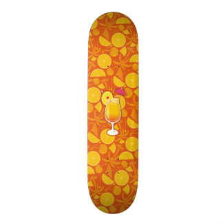 Tequila sunrise skateboard