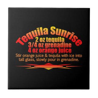 Tequila Sunrise tile