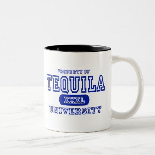 Tequila Taza De Café De Dos Colores