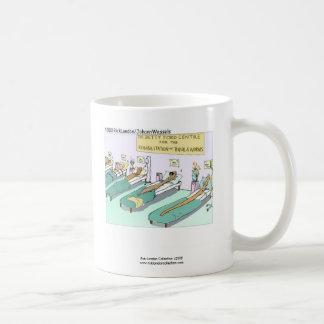 Tequila Worm Rehab Funny Cartoon Coffee Mug