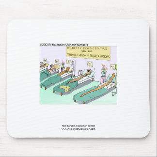 Tequila Worm Rehab Mouse Pads Mouse Pads