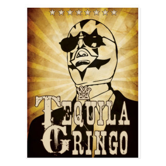 TequilaGringo Tarjeta Postal