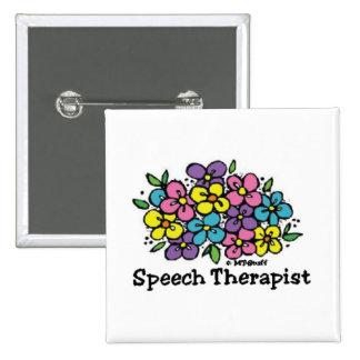 Terapeuta de discurso Blooms1 Pin