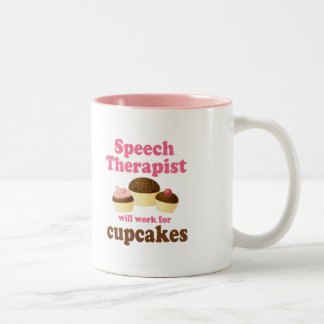 Terapeuta de discurso taza de café