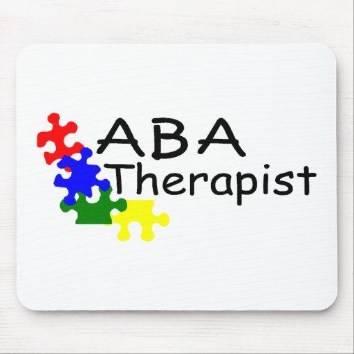 Terapeuta del ABA (PP) Alfombrilla De Ratones
