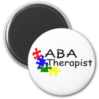 Terapeuta del ABA (PP) Imán De Frigorífico