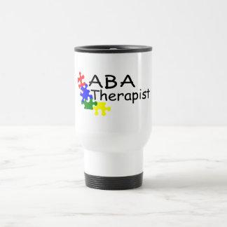 Terapeuta del ABA (PP) Taza De Viaje De Acero Inoxidable