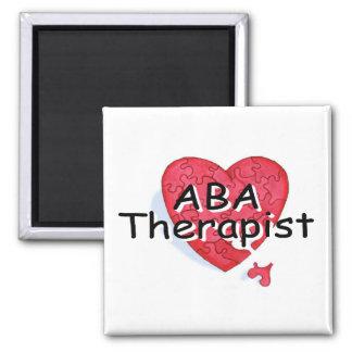 Terapeuta del ABA (rompecabezas de Hrt) Imanes