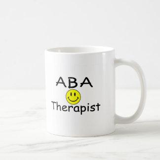 Terapeuta del ABA (smiley) Taza De Café