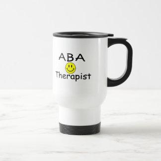 Terapeuta del ABA (smiley) Taza De Viaje