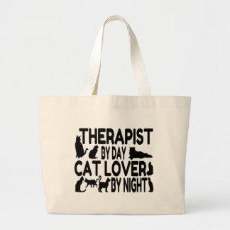 Terapeuta del amante del gato bolsa
