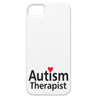 Terapeuta del autismo iPhone 5 Case-Mate cárcasa