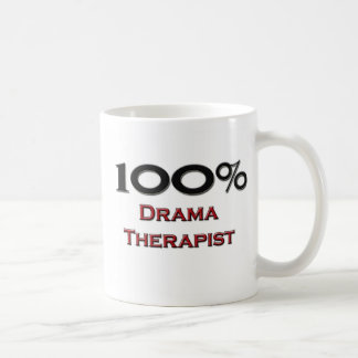 Terapeuta del drama del 100 por ciento taza