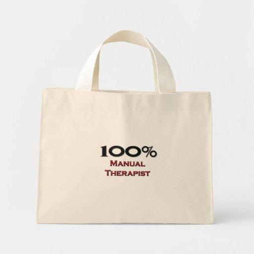 Terapeuta del manual del 100 por ciento bolsa