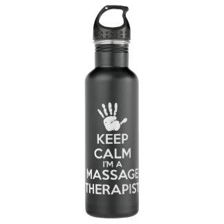 Terapeuta del masaje - guarde la calma