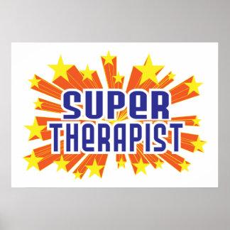 Terapeuta estupendo posters