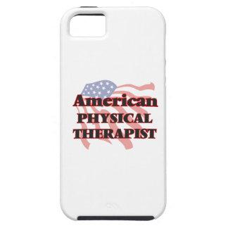 Terapeuta físico americano iPhone 5 fundas