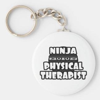 Terapeuta físico de Ninja Llaveros Personalizados