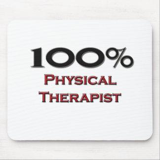 Terapeuta físico del 100 por ciento alfombrilla de raton