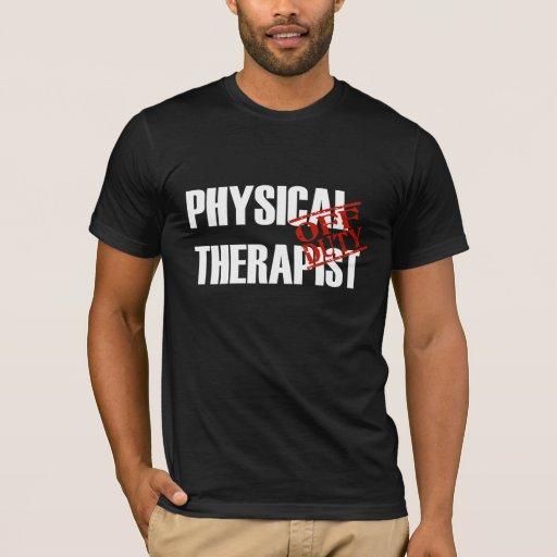 Terapeuta físico FUERA DE SERVICIO Playera