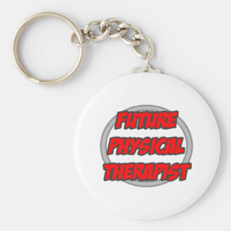 Terapeuta físico futuro llavero