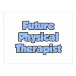 Terapeuta físico futuro postal