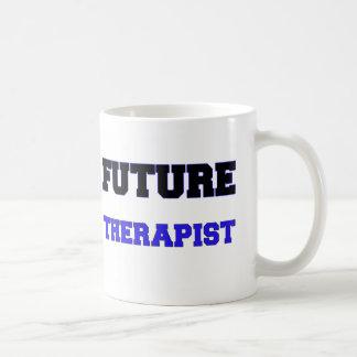 Terapeuta futuro taza de café