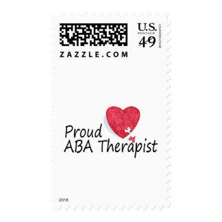 Terapeuta orgulloso del ABA Envio