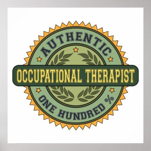 Terapeuta profesional auténtico poster